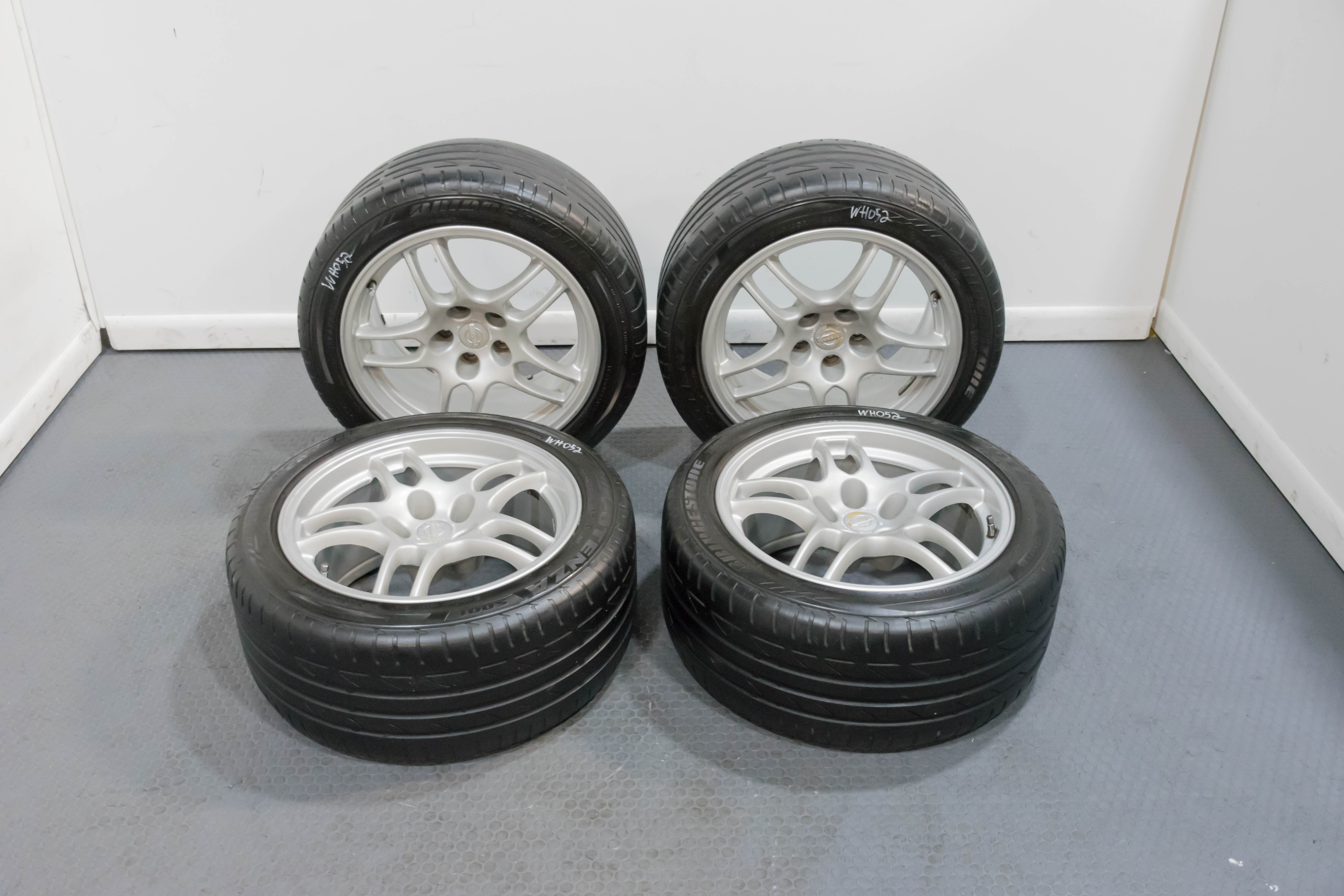 Used Wheels For Sale >> Used Nissan Skyline R33 Gtr 17x9 Forged Wheels For Sale