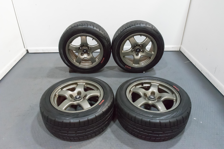 Nissan R32 GTR OEM Forged Wheels 16x8 for R32 R33 Nissan Skyline GTR 240SX