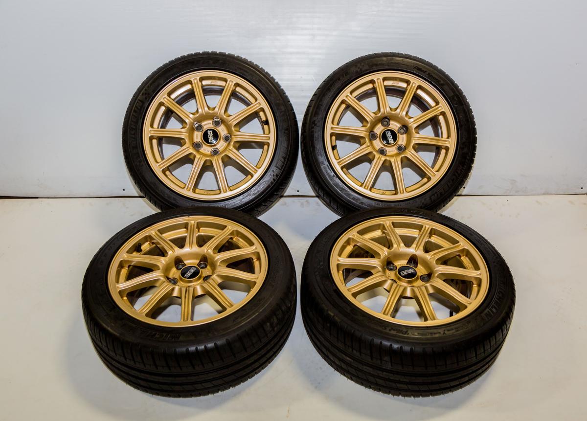 Subaru WRX STi OEM BBS Wheels | Wheels | J-Spec Auto Sports