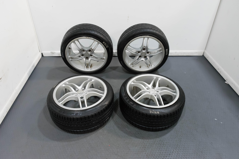 Used Wheels For Sale >> Jdm Yokohama Avs Model 5 Style Replica Used Wheels In 18x8 5 Clean Silver Finish 5x114 3
