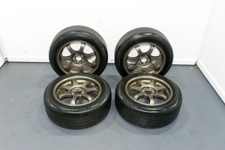 Toyota Of Sanford >> JDM A-Tech 16x7 +48 Wheels 5x100 Bronze WP-789 | Subaru | J-Spec Auto Sports