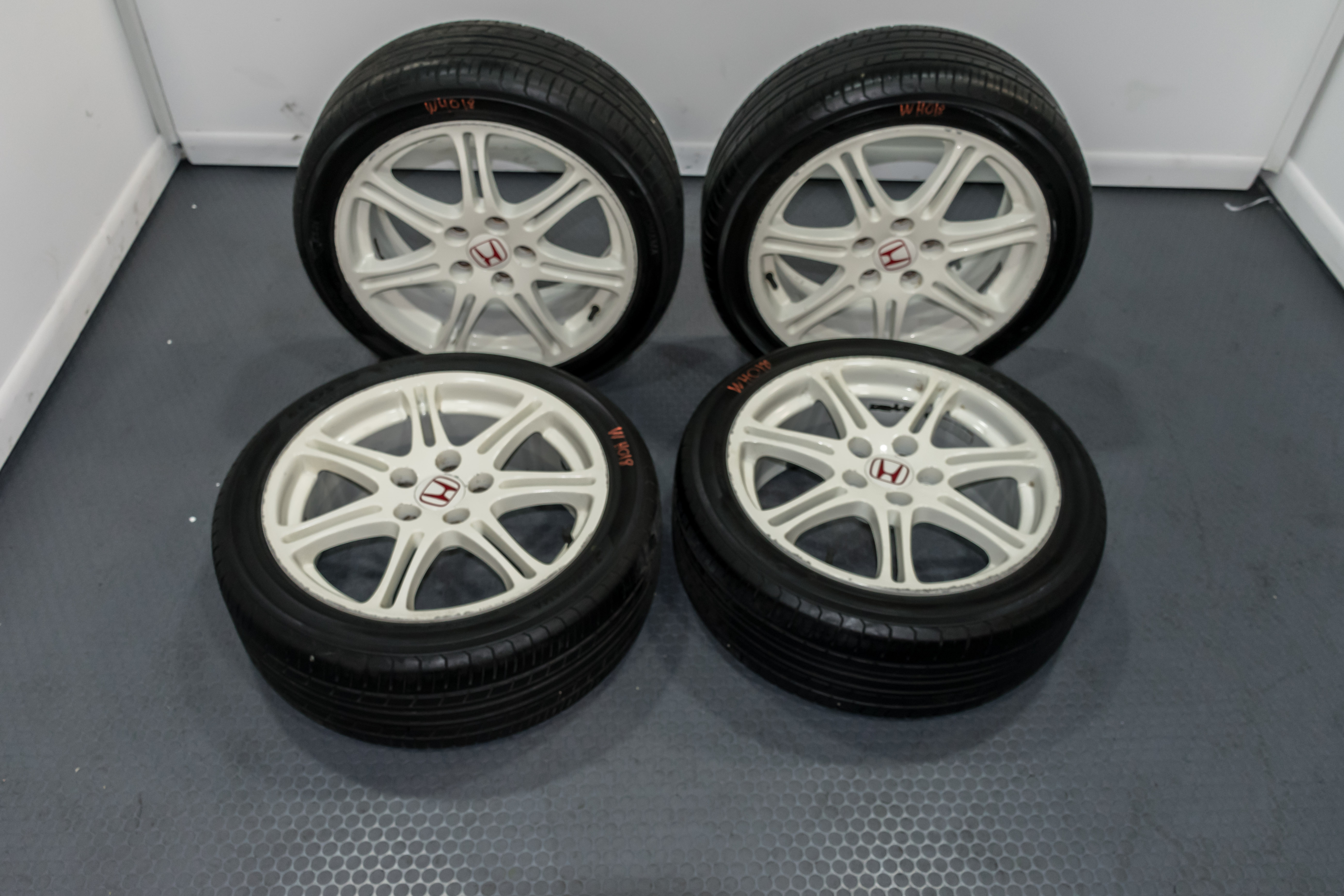 ep3 wheels type civic jdm honda 17x7 5x114 sold oem