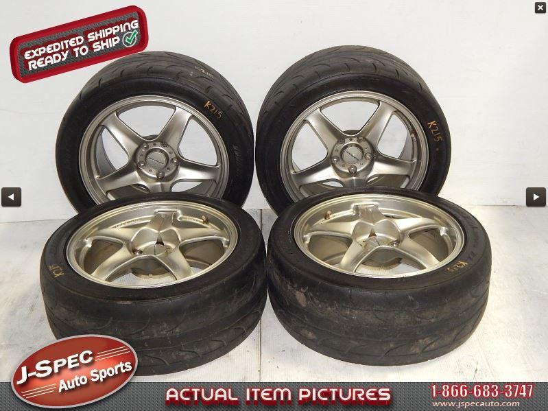 Toyota Of Sanford >> Rare ProDrive GC-05A Forged 5 Spoke GunMetal Wheels 5x114 ...